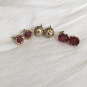 Jewelry - BUNDLE Earrings Studs